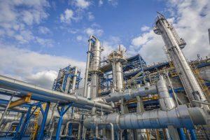 Petrochemiese industrie